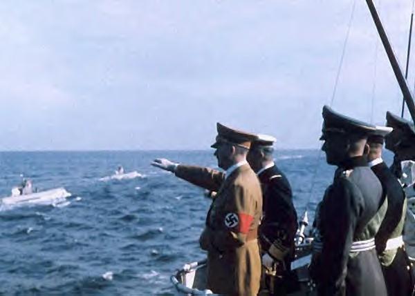 Боевые действия немецких подводных